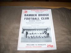 Bamber Bridge v Newcastle Town, 1990/91
